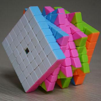 MoFang JiaoShi MF7 7x7 Stickerless