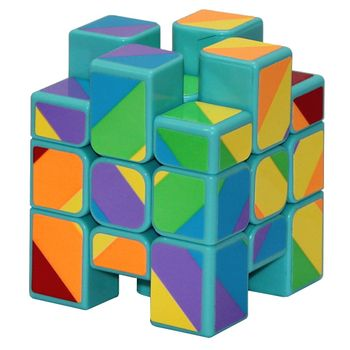 YJ Inequilateral Cube Green