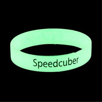 Cubelelo Speedcuber GLOW IN DARK Wrist Band