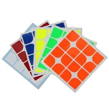 Cubesmith 4x4 Half-Bright Sticker Set - Florian