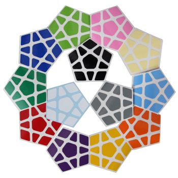 Cubicle Megaminx Sticker Set 32mm-DaYan