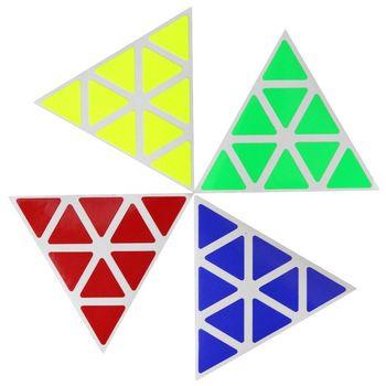 Cubicle Pyraminx Half Bright Sticker Set 98mm
