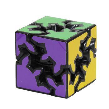 Magic Cube 2x2 Gear Shift Black