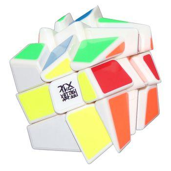 MoYu Crazy Windmill Cube 3x3 White