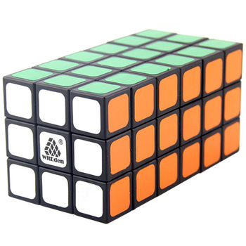 WitEden 3x3x6 Cuboid Black