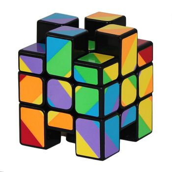 YJ Inequilateral Cube Black