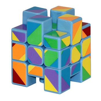 YJ Inequilateral Cube Blue