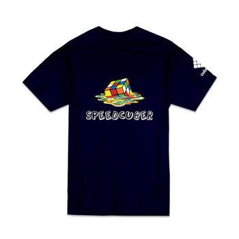 Cubelelo Speedcuber T-Shirt (Navy Blue)