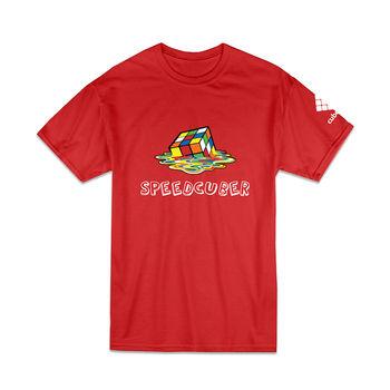 Cubelelo Speedcuber T-Shirt (Red)