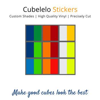 Cubelelo 3x3 55mm Dayan Zhanchi Stickers