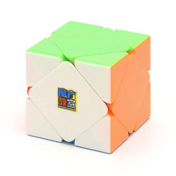 MoFang JiaoShi Skewb Cube Stickerless