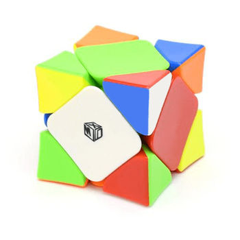QiYi X-Man Wingy Magnetic Skewb Stickerless