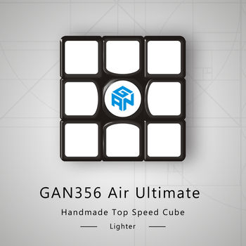 Gans 356 Air Ultimate Edition 3x3 Black