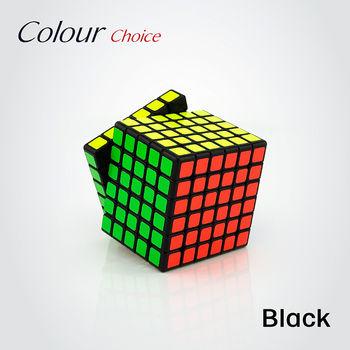 MoYu WeiShi GTS 6x6 Cube Black