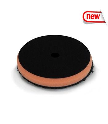"Chemical Guys 6.5"" Black Optics Microfiber Orange Cutting Pad"