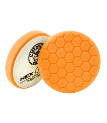 Chemical Guys 6.5 Hex-Logic Medium-Heavy Cutting Pad, Orange