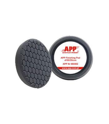 "APP 7.5"" Black Hexa Finishing Pad For Rotary Polisher"