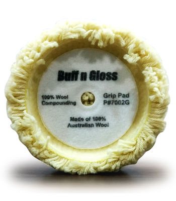 Buff n Gloss Wool Pad 7.5""