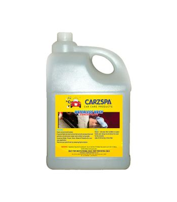 Carzspa Waterless Wash Concentrate 5Ltrs