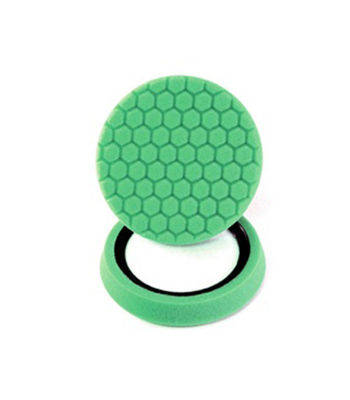 "Chemical Guys 7.5""Hex Logic Self Centered Light Cutting Pad-Green"
