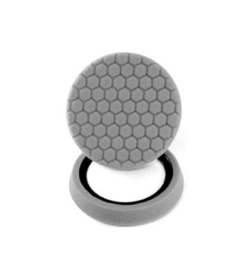 "Chemical Guys 7.5"" Hex Logic Self Centered Medium Light Polishing Pad  White"