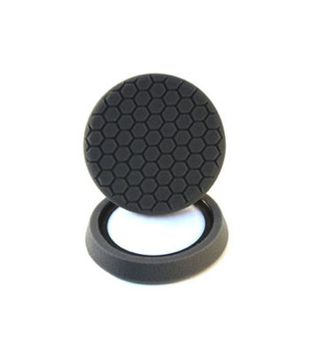 "Chemical Guys 6.5"" Hex Logic Quantum Finishing Pad Black"