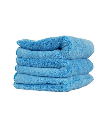 "Chemical Guys Super Plush Super Premium Microfiber Cloth Blue ( Pack Of 3,16""x16"")"