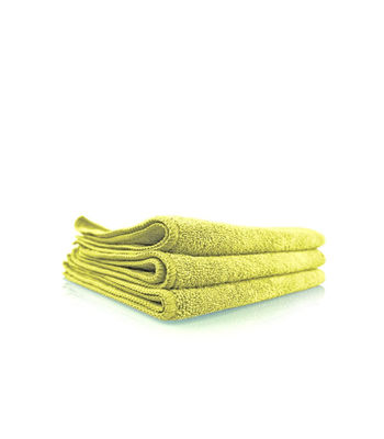 "Chemical Guys Workhorse Professional Grade Microfiber Towel Yellow (Pack Of 3,16""x16"" )"