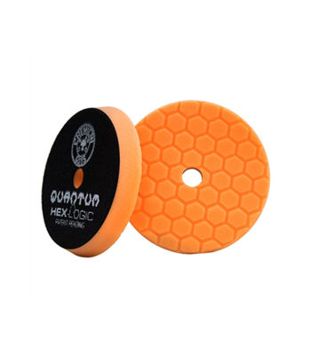 "Chemical Guys Hex Logic Quantum 5.5"" Medium Cutting Pad Orange"
