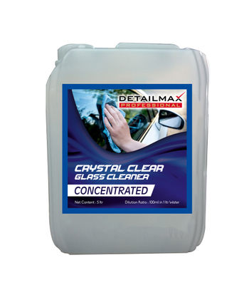 DETAILMAX  Crystal Clear Glass Cleaner 5ltr
