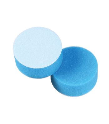"Lake Country 3"" Cyan Foam Flat Heavy Polishing Pad"