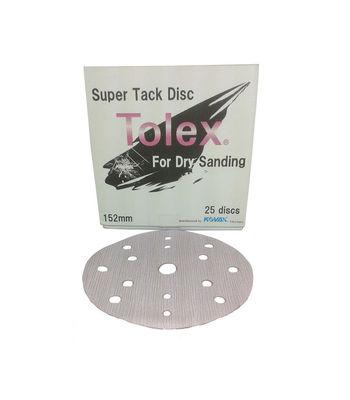 """Kovax - Tolex Super Tack Sanding Disc 6"""" - Pink (25 Units)"""