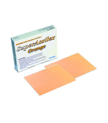 Kovax - Super Assilex Sanding Sheet with Slit - Orange (1500 Grit), 10pcs