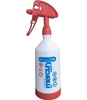 Kwazar Mercury Super Pro+ 360 Spray Bottle - 1 .0L - Red