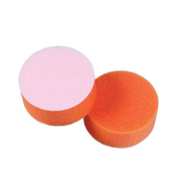 "Lake Country 3"" Tangerine Foam Flat Light Polishing Pad"