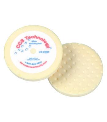 "Lake Country 8"" CCS White Foam Polishing Pad"