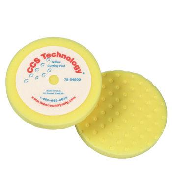 "Lake Country 8"" CCS Yellow Foam Cutting Pad"