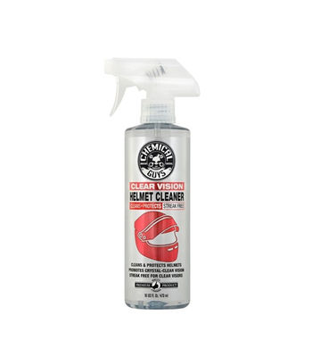 Chemical Guys Moto Line Clear Vision Streak Free Helmet Cleaner & Protectant ( 473 ml)