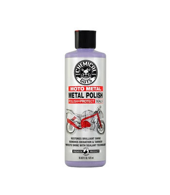 Chemical Guys Moto Line Metal Polish Cleaner  Polish & Protectant For Motorcycles  ( 473 ml)