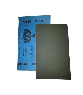 Matador Sanding Sheet / Paper 2500 Grit Set of 10