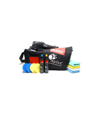 Rupes LHR 75E Mini Random Orbital Polisher-DLX Kit