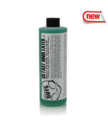Chemical Guys So Fast Premium Air Freshener And Odor Eliminator, Green Apple ( 473 ml )