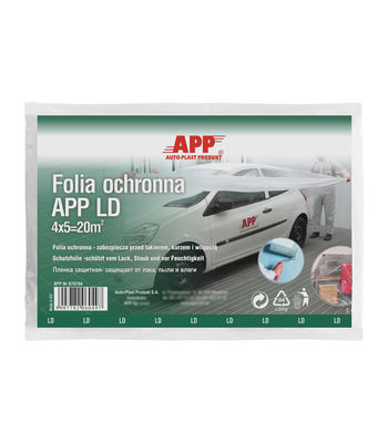 APP F LD Protective film (thin) 4mx5m -  Set of 4