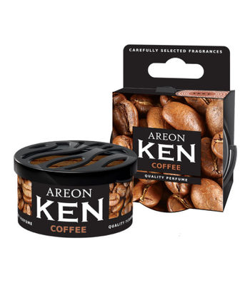 Areon Ken Gel Car Air Freshener - Coffee 35gm