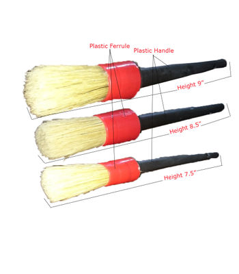 Autofresh Sash Detailing Brush With Plastic Handle Set of 3