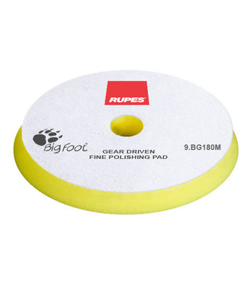 Rupes Mille Fine Pad Yellow 150 mm