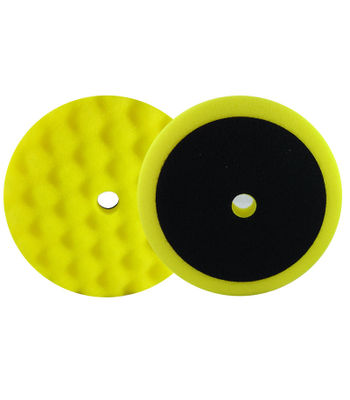"APP 7"" Yellow Waffle Medium Polishing Pad"