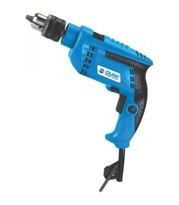 CUMI Impact Drill, CID 013 VR, Drill Capacity: Wood: 15 MM, Steel: 10 MM, Concrete: 13 MM, 650 W