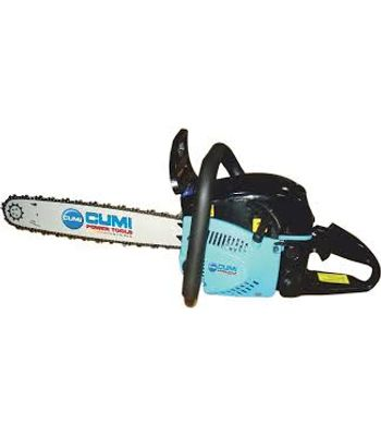 CUMI Petrol Chain SaW, CPS 460, PoWer Input (W)  2.2 kW,Weight (kg) 6.50, RPM 8000,Fuel capacity (approx.) 550 ml
