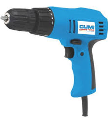 CUMI ScreW Driver,CSD 010,PoWer Input (W) 280 , No load RPM 0-800 , Weight (kg) 1.2, Max. ScreW Dia (MM) 10MM / 20MM